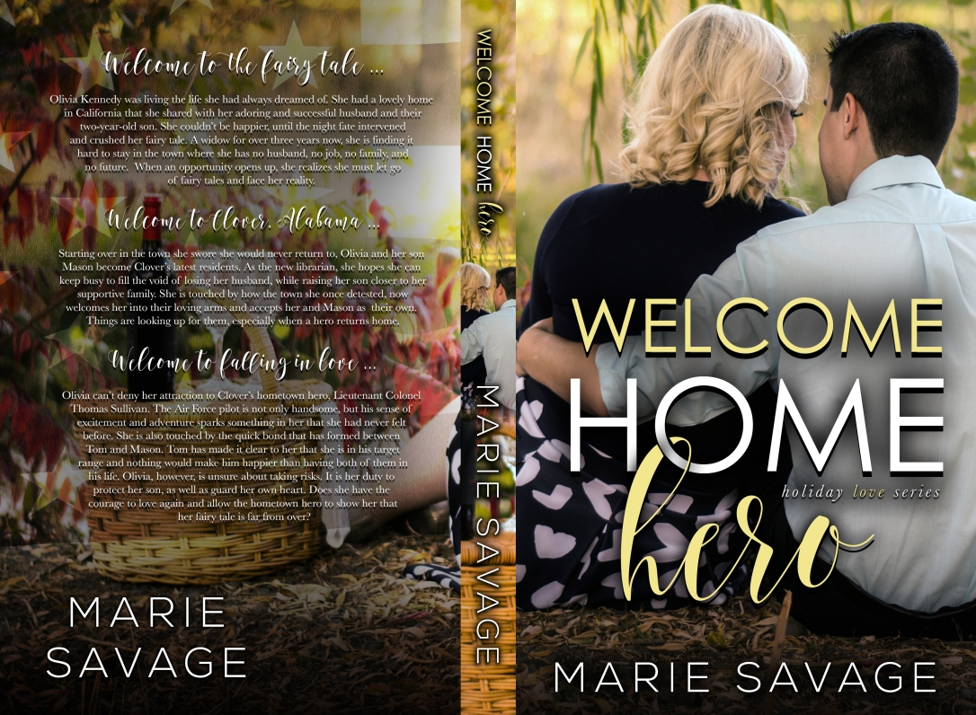 Welcome Home Hero Marie Savage 5.5x8.5_BW_300